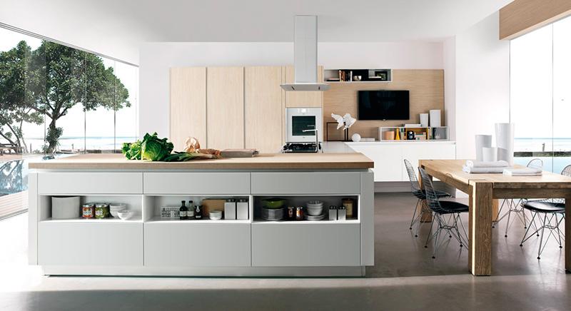 Marcas de muebles de cocina ptimo de espacios en la for Muebles italianos marcas