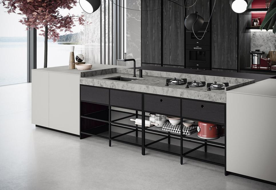 sistema frame Dinova Cocinas
