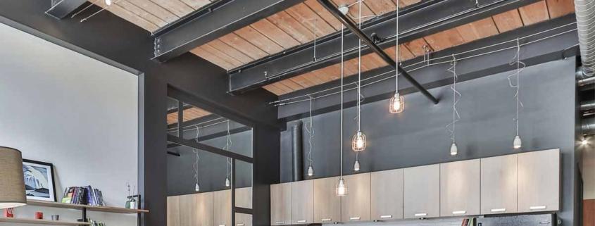 tipos de techo para la cocina